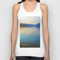 scotland Tank Tops featuring Scotland Landscape by Hail Of Whales