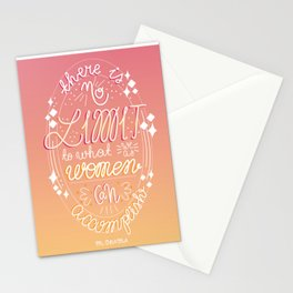There is no limit... Stationery Cards