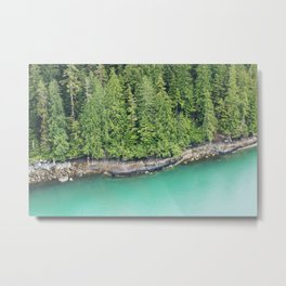 Ketchikan Shoreline Metal Print
