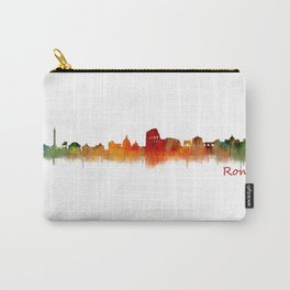 Rome city skyline HQ v02 Carry-All Pouch