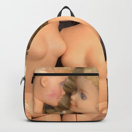 Dolls in bed Backpack