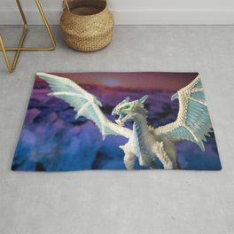 Ice Dragon 4 Rug