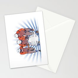Cool Runnings - Bobsleigh 4 men team Stationery Cards