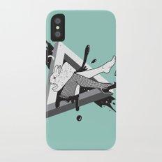 Lady Bunny iPhone X Slim Case