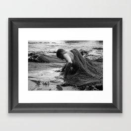 Rise Up - Human Series Framed Art Print
