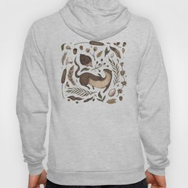 Weasel and Hedgehog Hoody