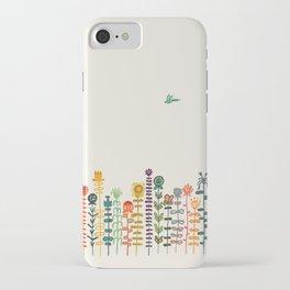 Happy garden iPhone Case