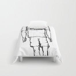 Happy Halloween (B & W) Comforters
