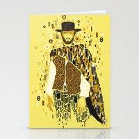klimt Stationery Cards featuring Klimt Eastwood by Frederick Hoffman
