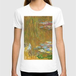 The Water Lily Pond - Claude Monet T-shirt
