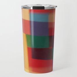 Colored blur background 5 Travel Mug