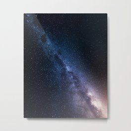 Sharp Milky Way Metal Print