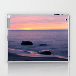 Lake Superior Sunset neat Ontonagon, Michigan Laptop & iPad Skin