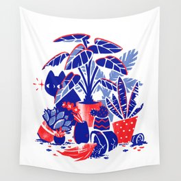 Horticulture Horror Wall Tapestry