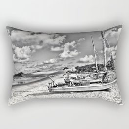Lagune Nuageuse Rectangular Pillow