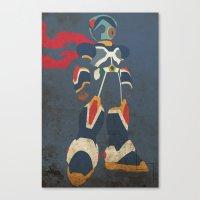 megaman Canvas Prints featuring Megaman X by JHTY