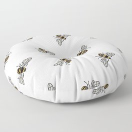 Bumble Bee Floor Pillow