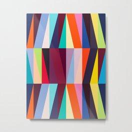 Abstract traits Metal Print