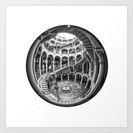 Circular Fisheye #1 Art Print