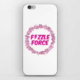 Fizzle Force iPhone Skin