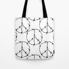Peace Simbol Tote Bag