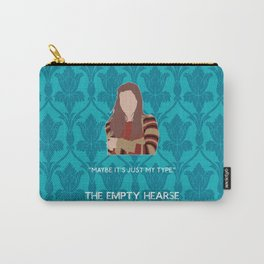 The Empty Hearse - Molly Hooper Carry-All Pouch