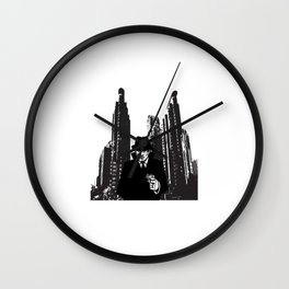 Spy Secret Agent Wall Clock