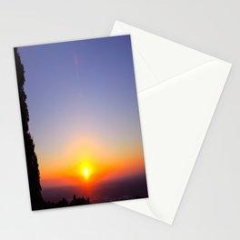 Sky High Sunset Stationery Cards