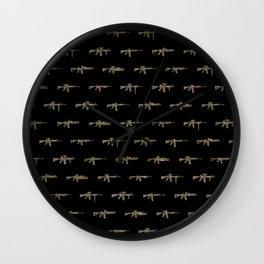 AR15 Pattern Wall Clock
