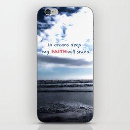 Oceans Deep iPhone Skin