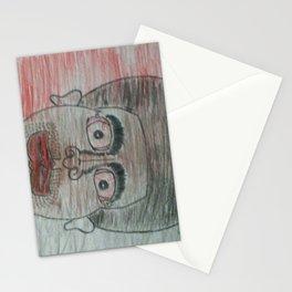 A male potrait Stationery Cards