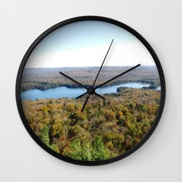 Above The Fall Wall Clock