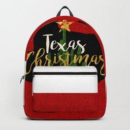 Texas Christmas Cactus Backpack