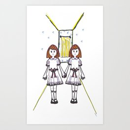 Louise&Lisa Art Print