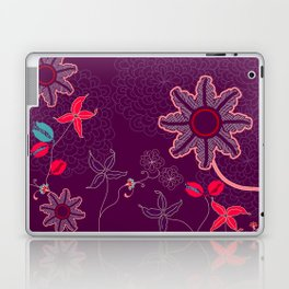 jungle delights deep velvet art print Laptop & iPad Skin