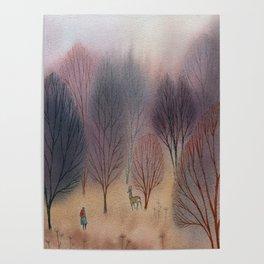 November Woods Poster
