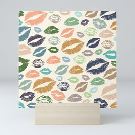 Lips 16 Mini Art Print