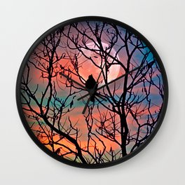 Another moonwatcher Wall Clock