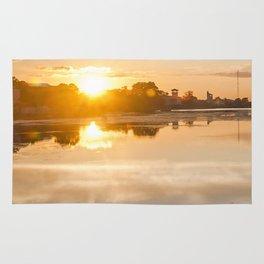 Baltic sea and sunset Rug