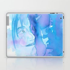 Lady in Blue Laptop & iPad Skin