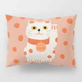 Abstraction_Lucky_Charm_Cat Pillow Sham