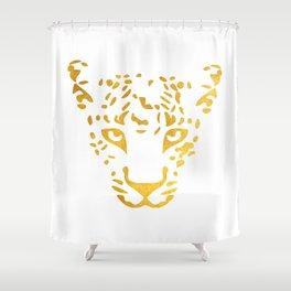 LEO FACE Shower Curtain