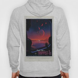 NASA Visions of the Future - Planet Hop from Trappist-1e Hoody