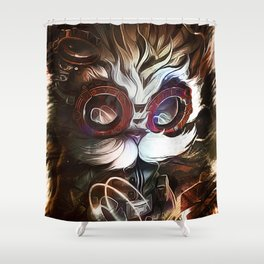 League of Legends HEIMERDINGER Shower Curtain