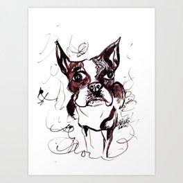 Boston Boy Art Print