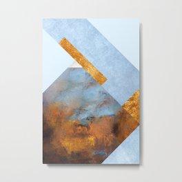 Modern Mountain No5-P1 Metal Print