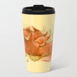 foxes couple Travel Mug