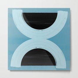Balance - Mid-Century Modern Abstract Metal Print