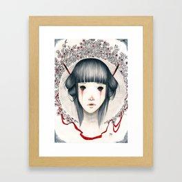 Where are you? Framed Art Print