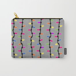 Party lights! blue Carry-All Pouch
